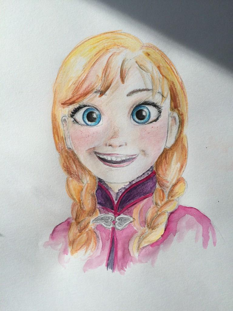 Love That Blogt Leer Anna Van Frozen Tekenen