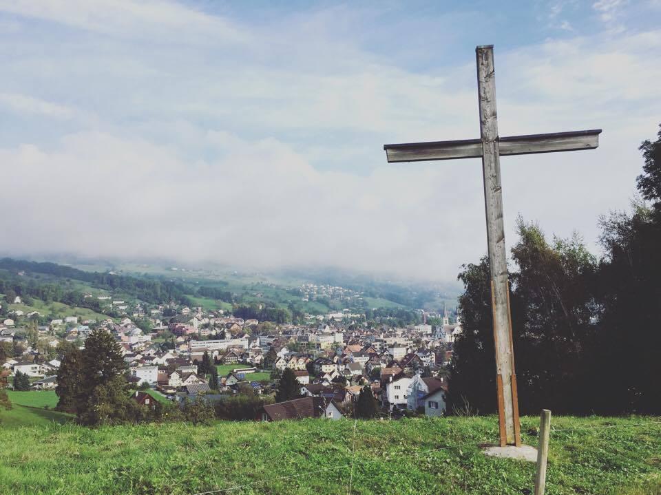 Uitzicht op Altstätten
