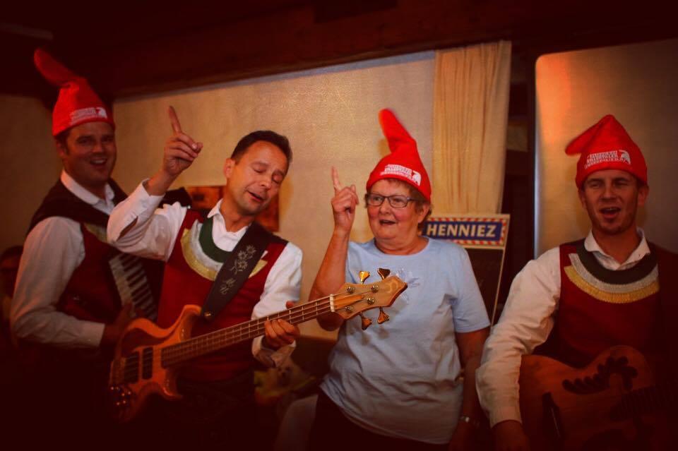Wat een feestje werd het met Die Jungen Zillertalers!