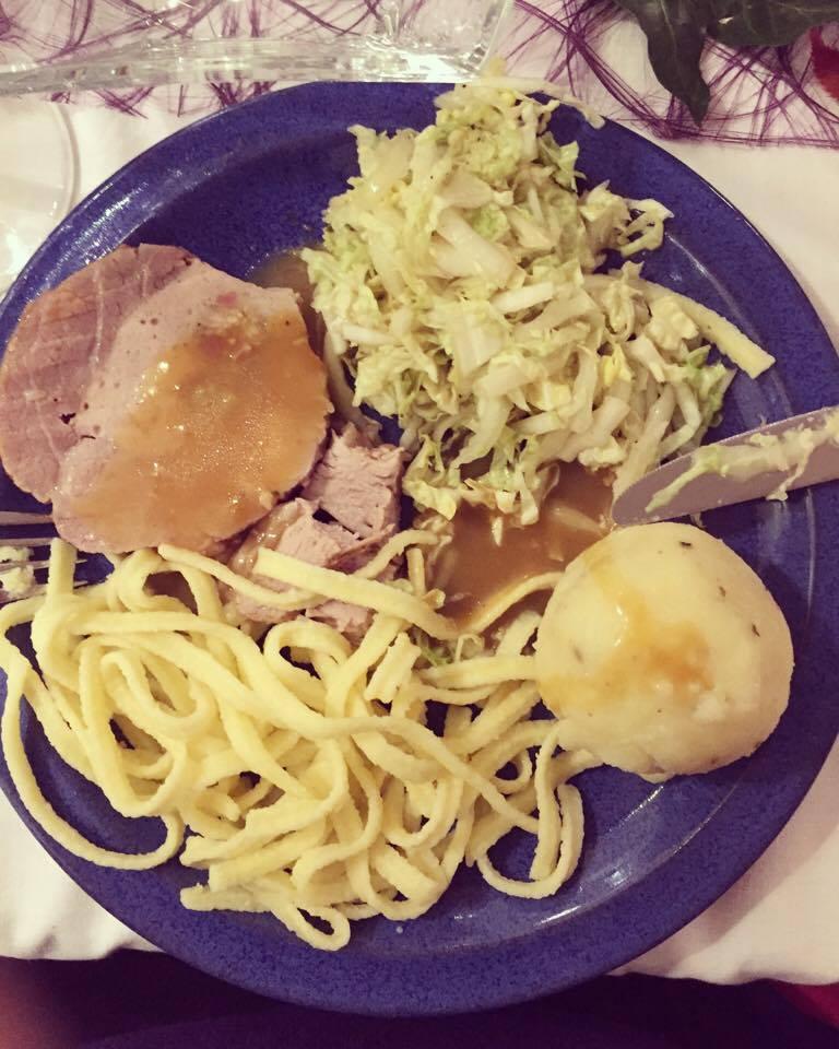 Lekker Duits bordje met eten