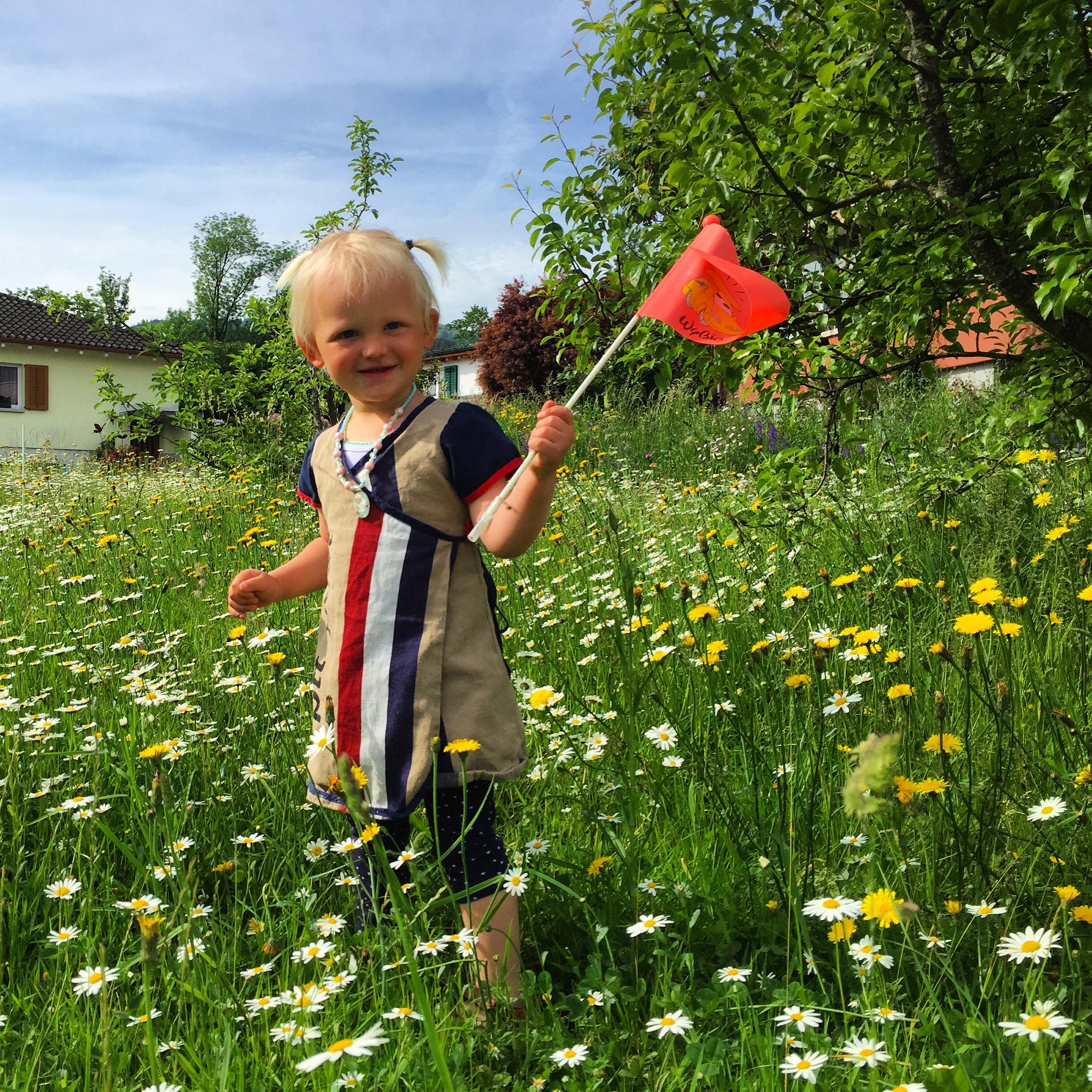 Vrijdagochtend hebben wij een heel vrolijk meisje. Helemaal in de Hollandse sferen, zo schattig