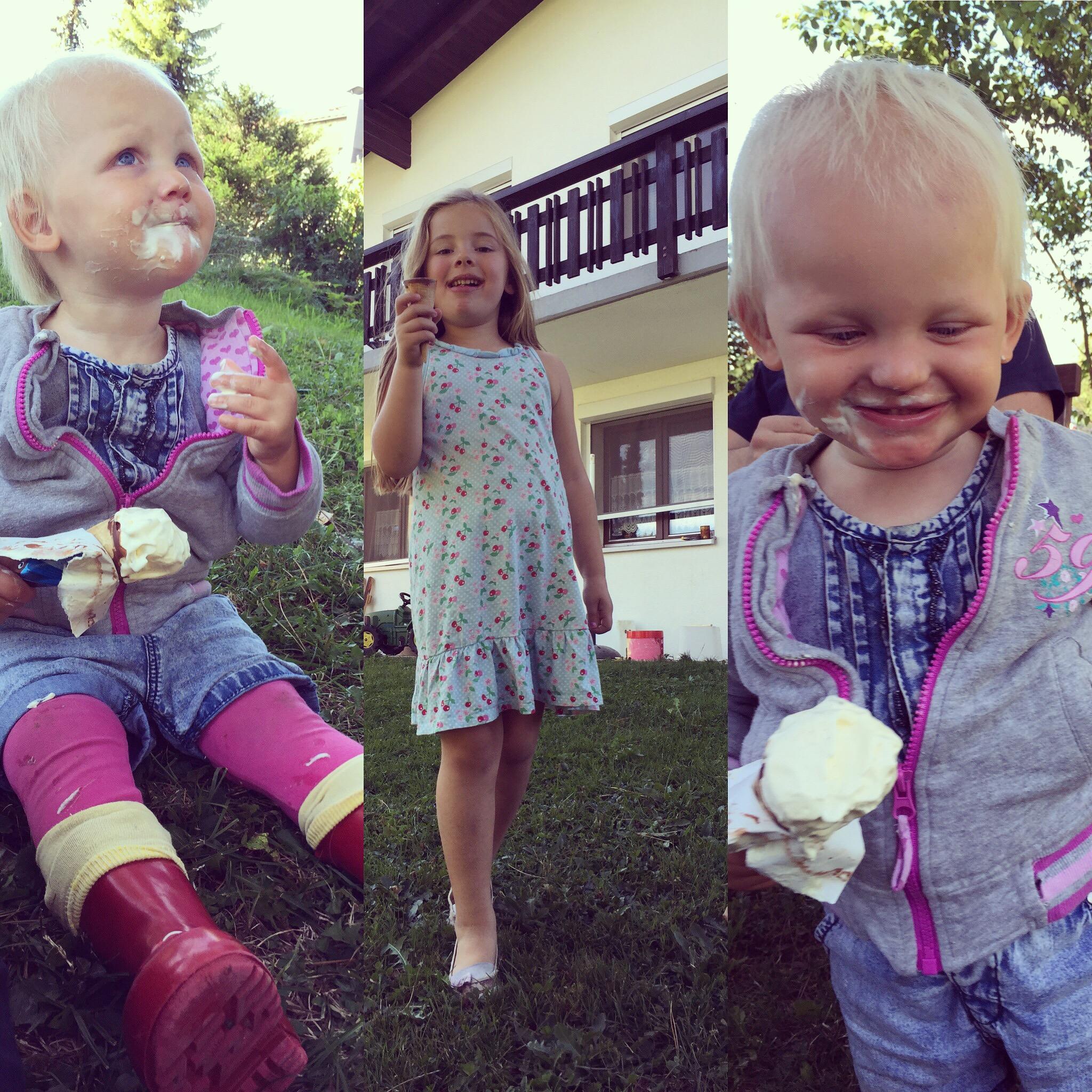 Eva en Floris gingen boodschappen doen en kwamen thuis met mega ijsjes!
