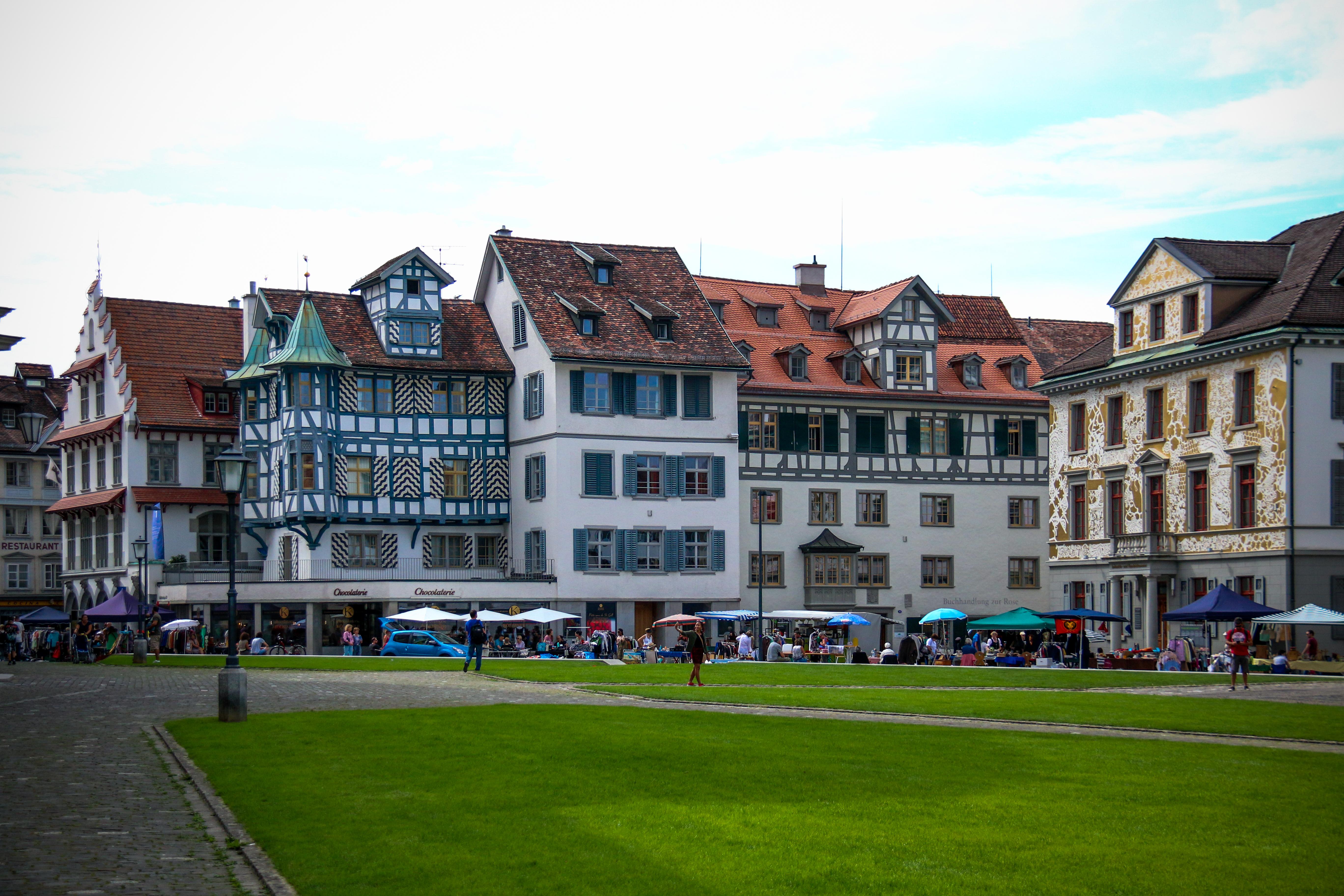 Bezoek St. Gallen en haar prachtige straatjes