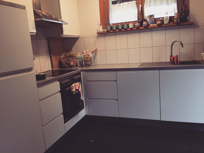 Ik maak ook nog mijn keuken blinkend schoon!
