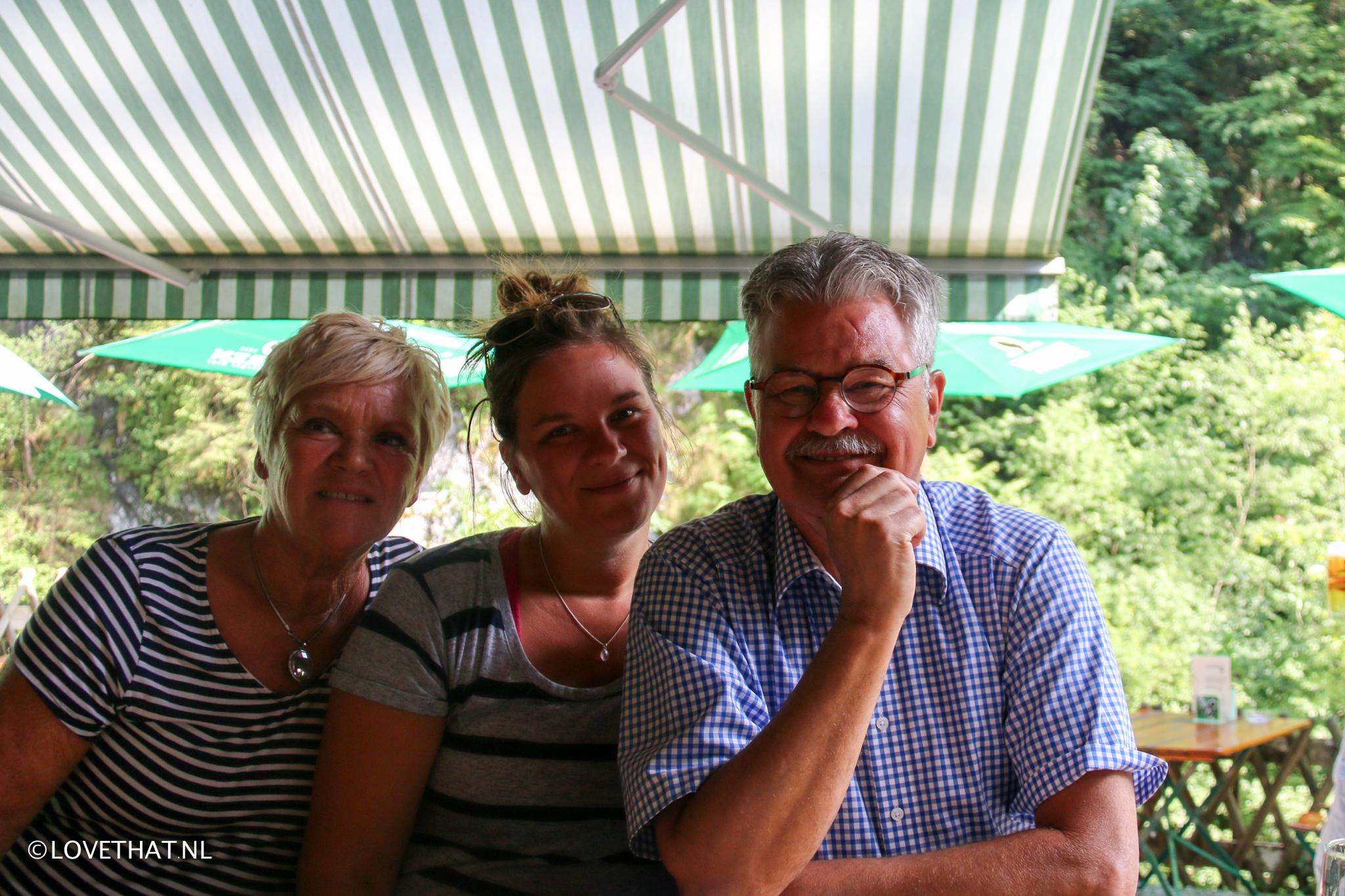 Eind juni waren mijn ouders hier. De start van het 'hoogseizoen!'