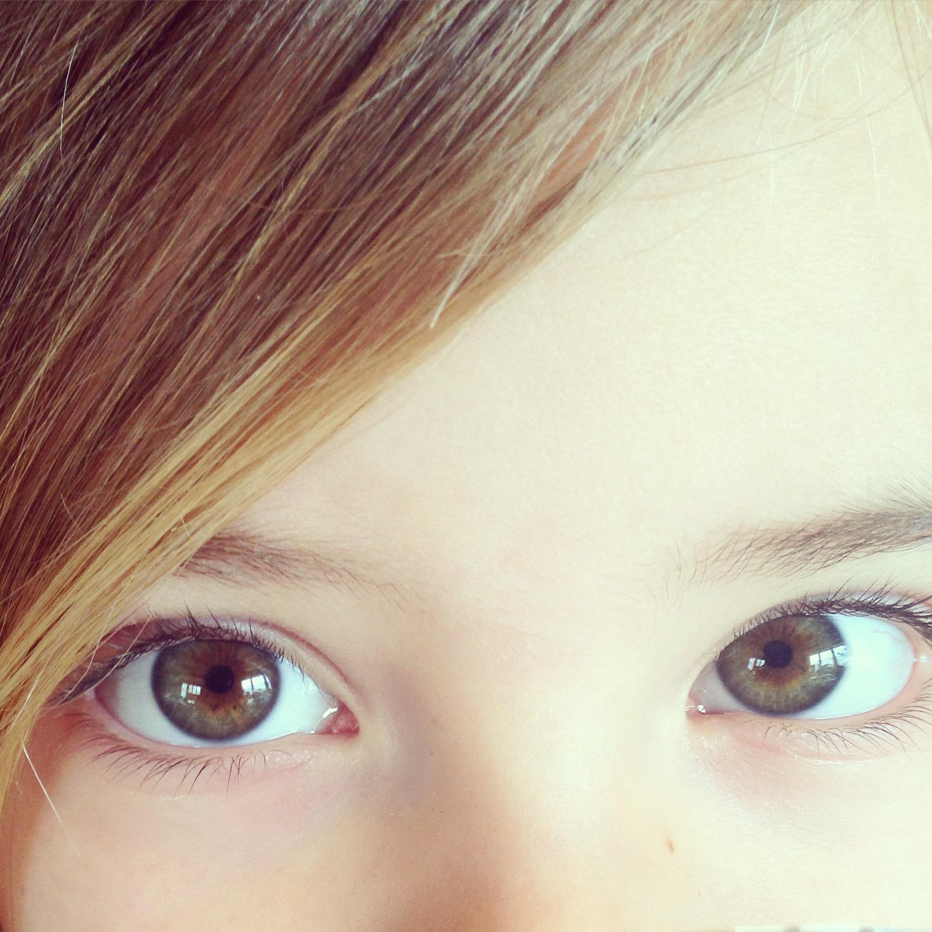 Op zondag vielen de mooie ogen van Eva me ineens op!