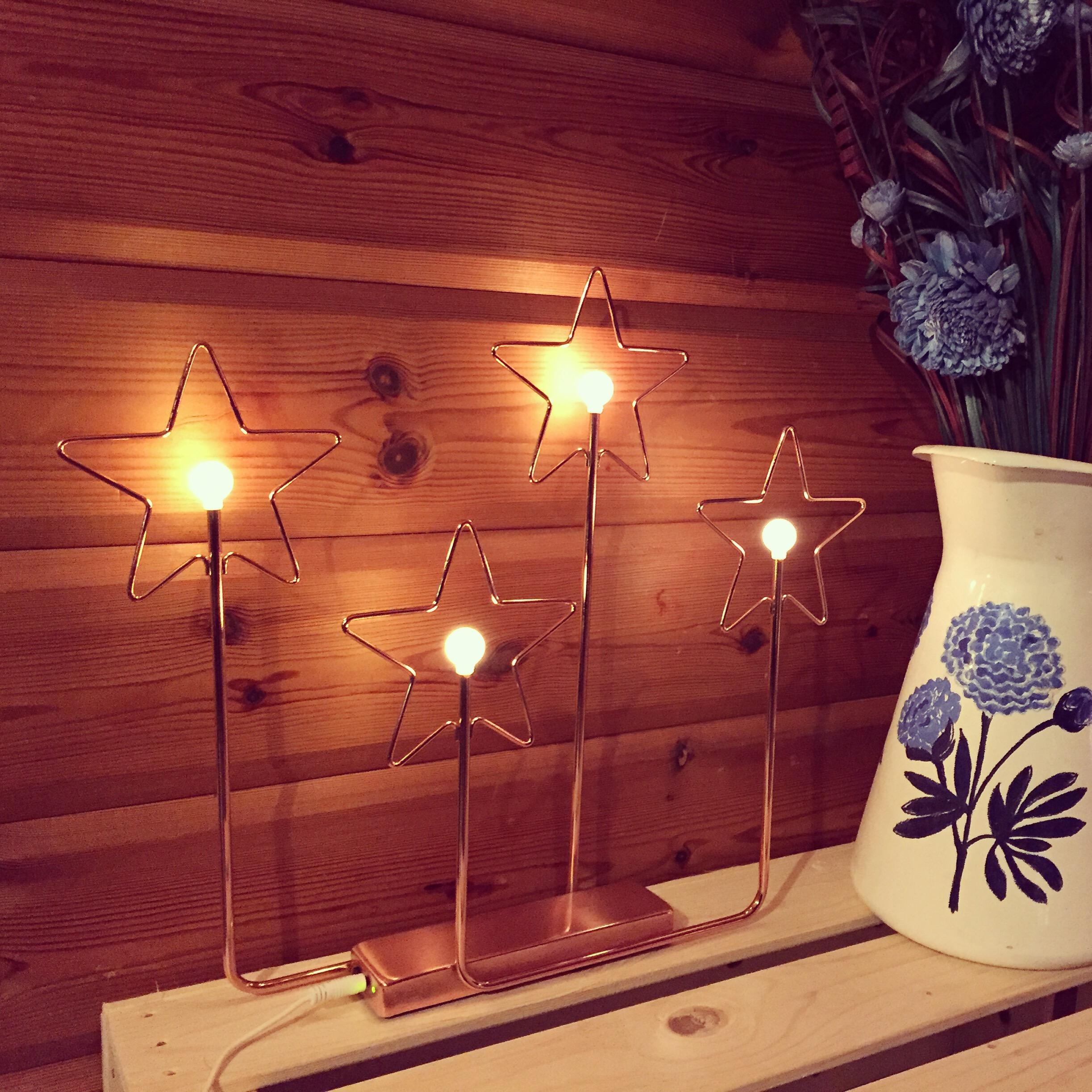 Voor mezelf kocht ik deze leuke lampjes. Ben er helemaal verliefd op!