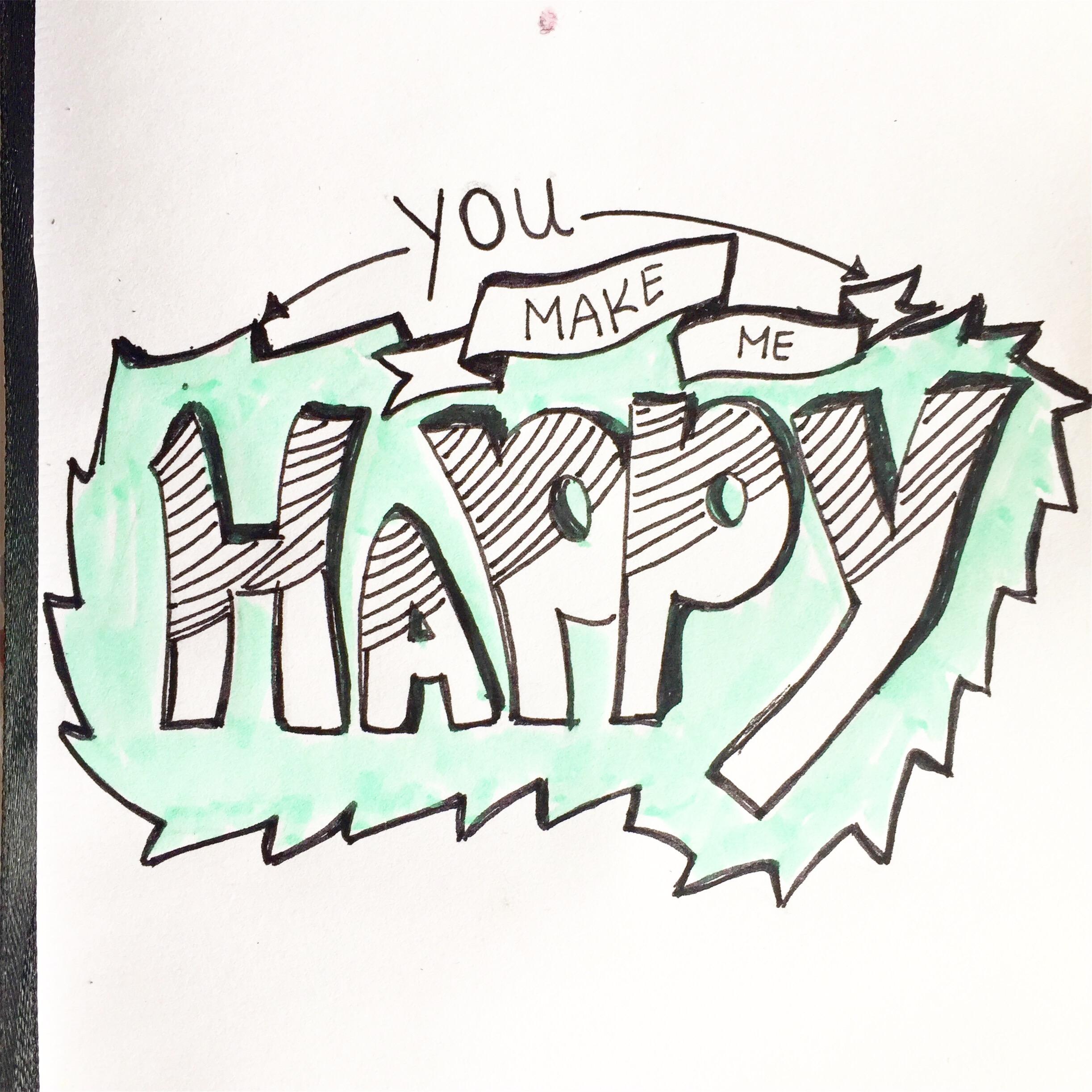 You make me happy! Ik word helemaal happy van deze groene kleur!
