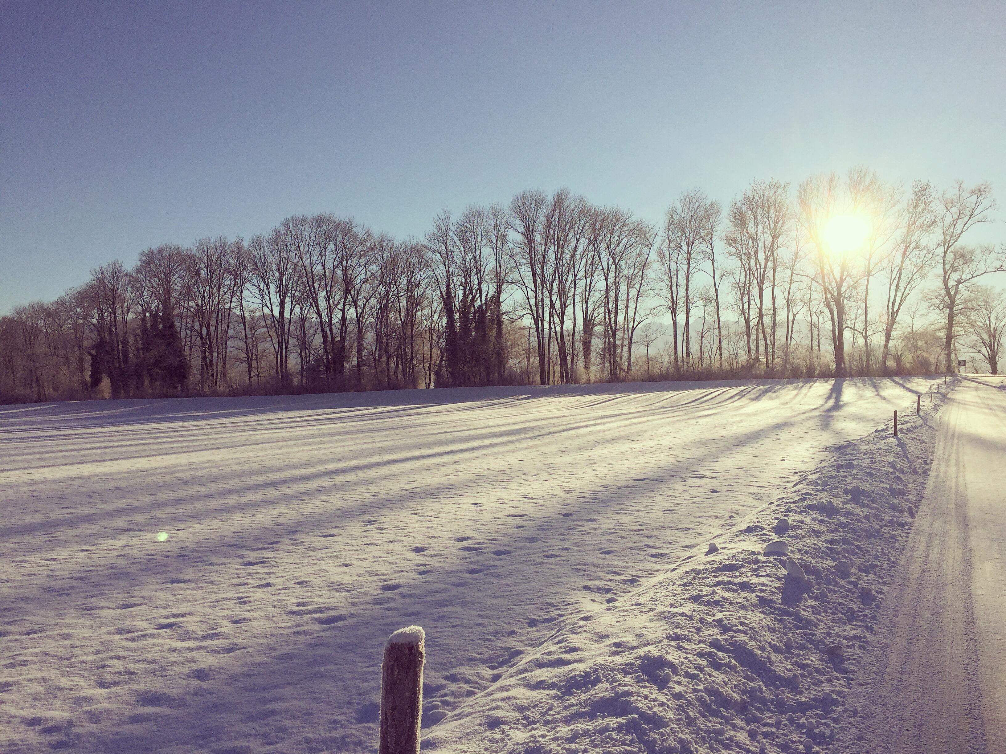 Het was zo mooi buiten!