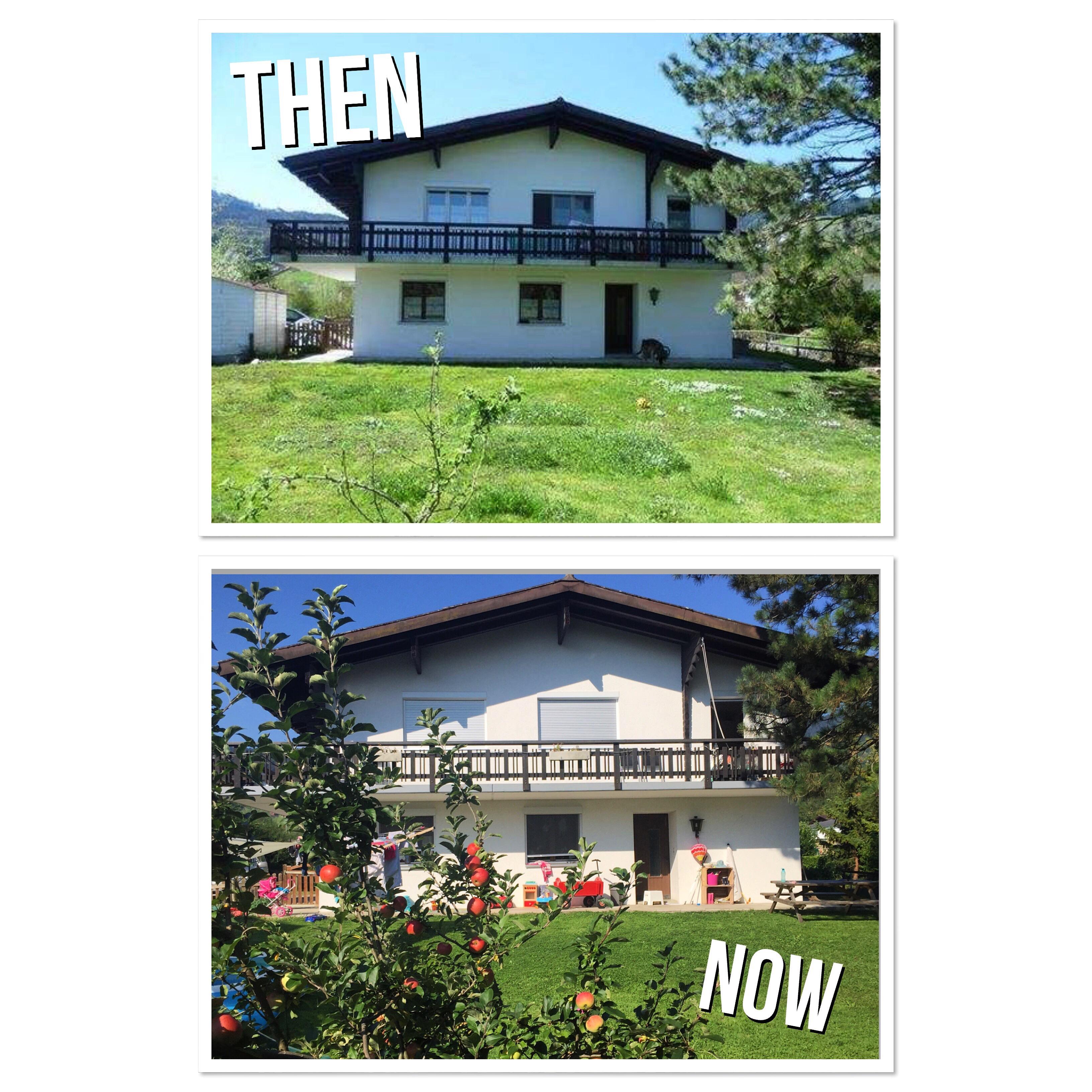 Via Timehop bleek dat we twee jaar geleden het huurcontracht van dit huis tekenden!