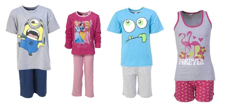 Basics pyjama's van de Zeeman