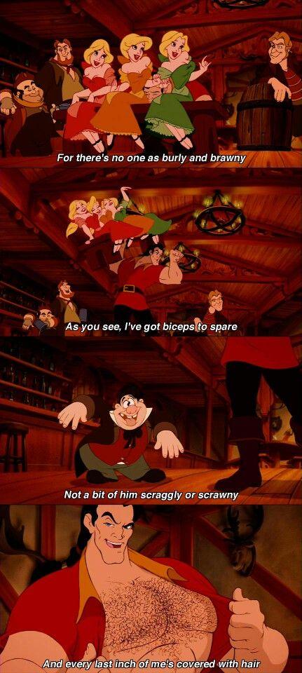 Waar zijn de tepels van Gaston?