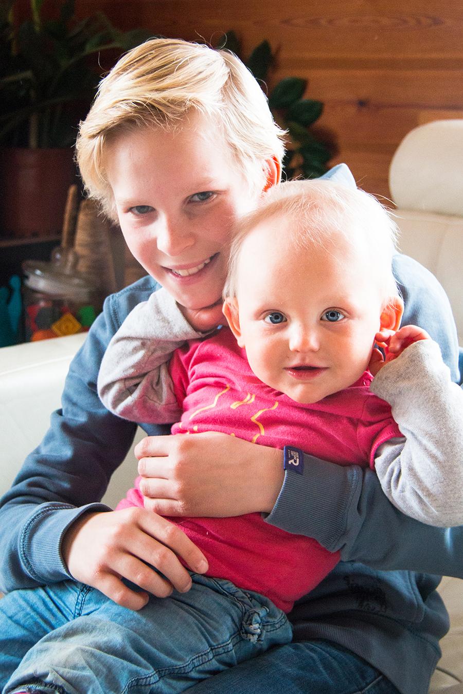 Grootste neef en kleinste nichtje
