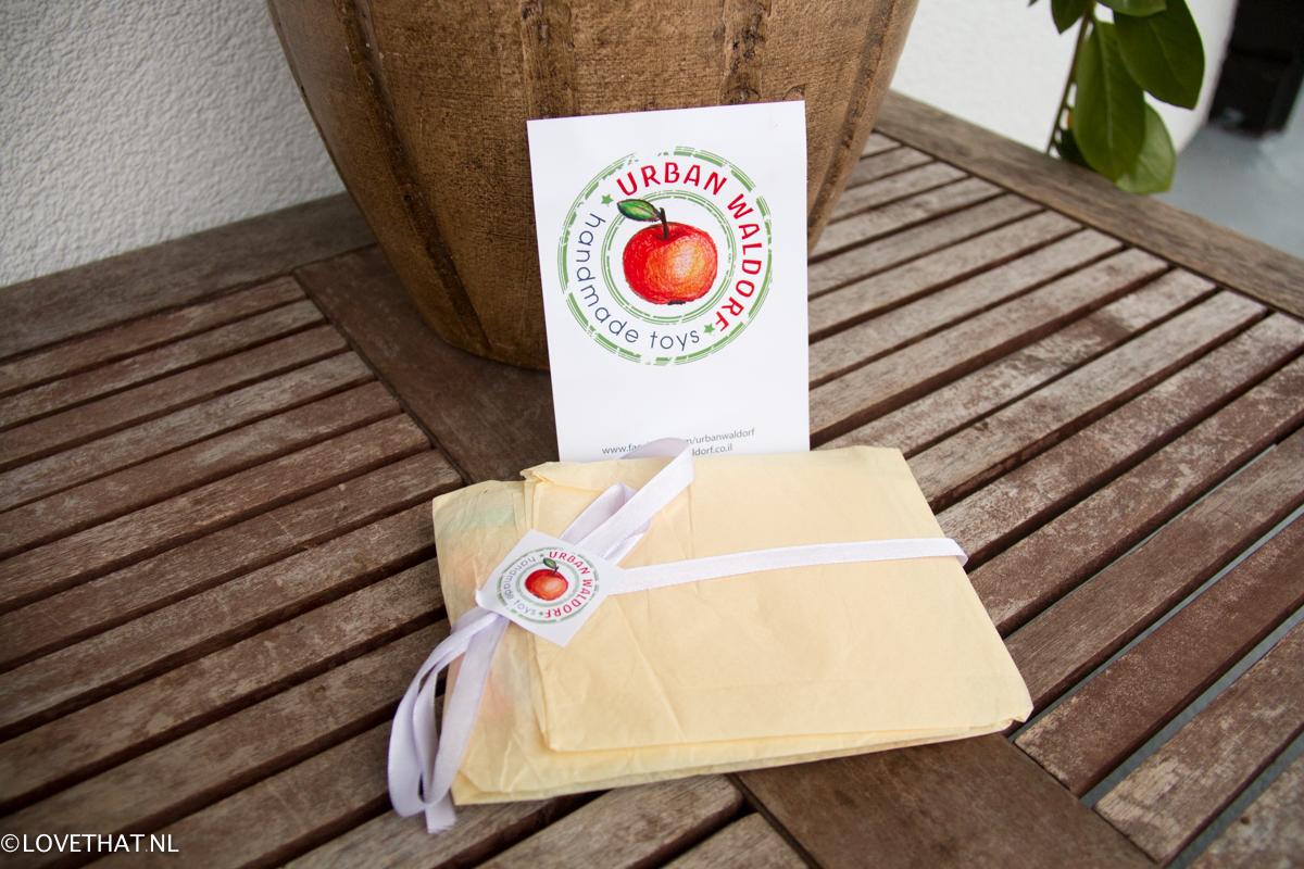 Een mooi pakketje in de brievenbus!