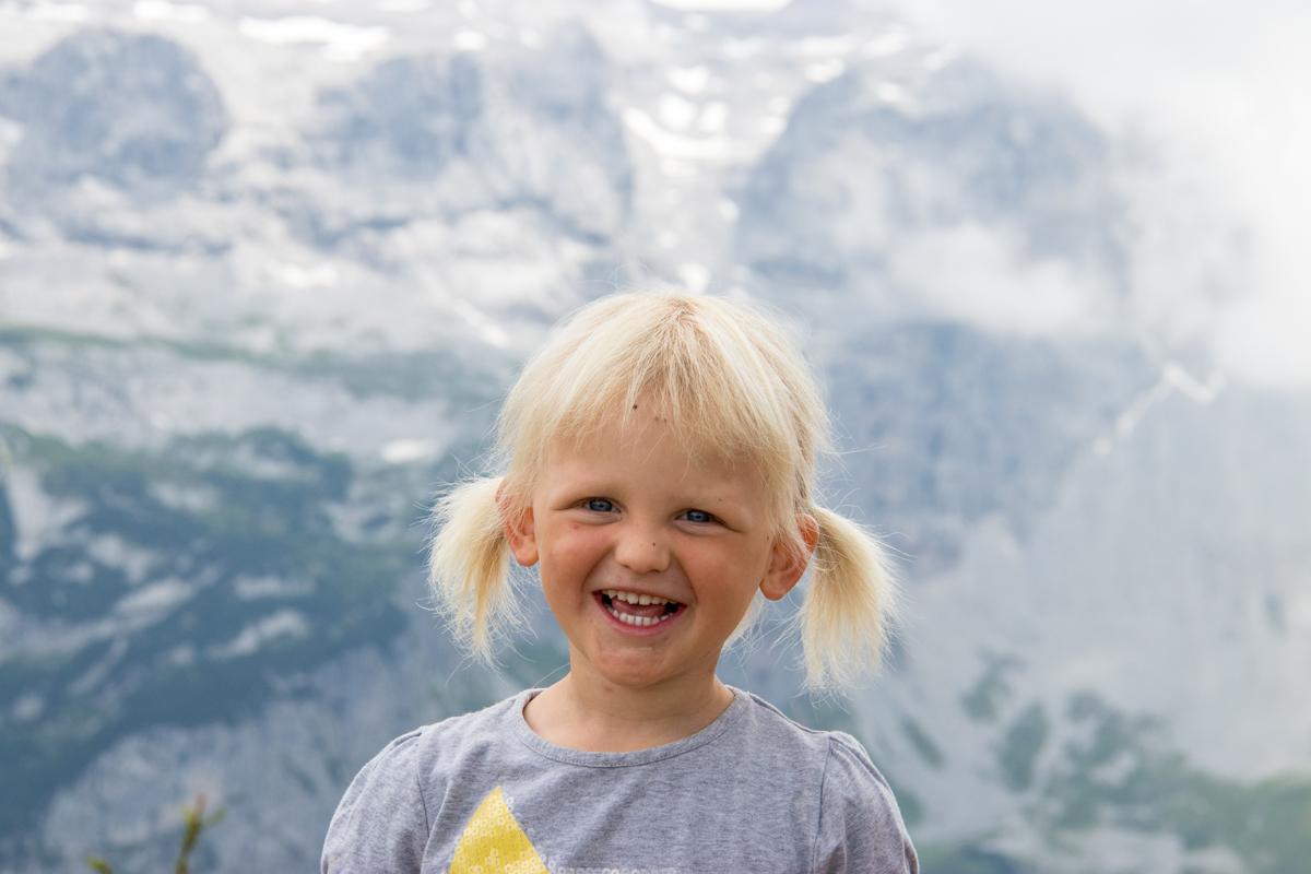 Liza, het meisje met de grappige haren