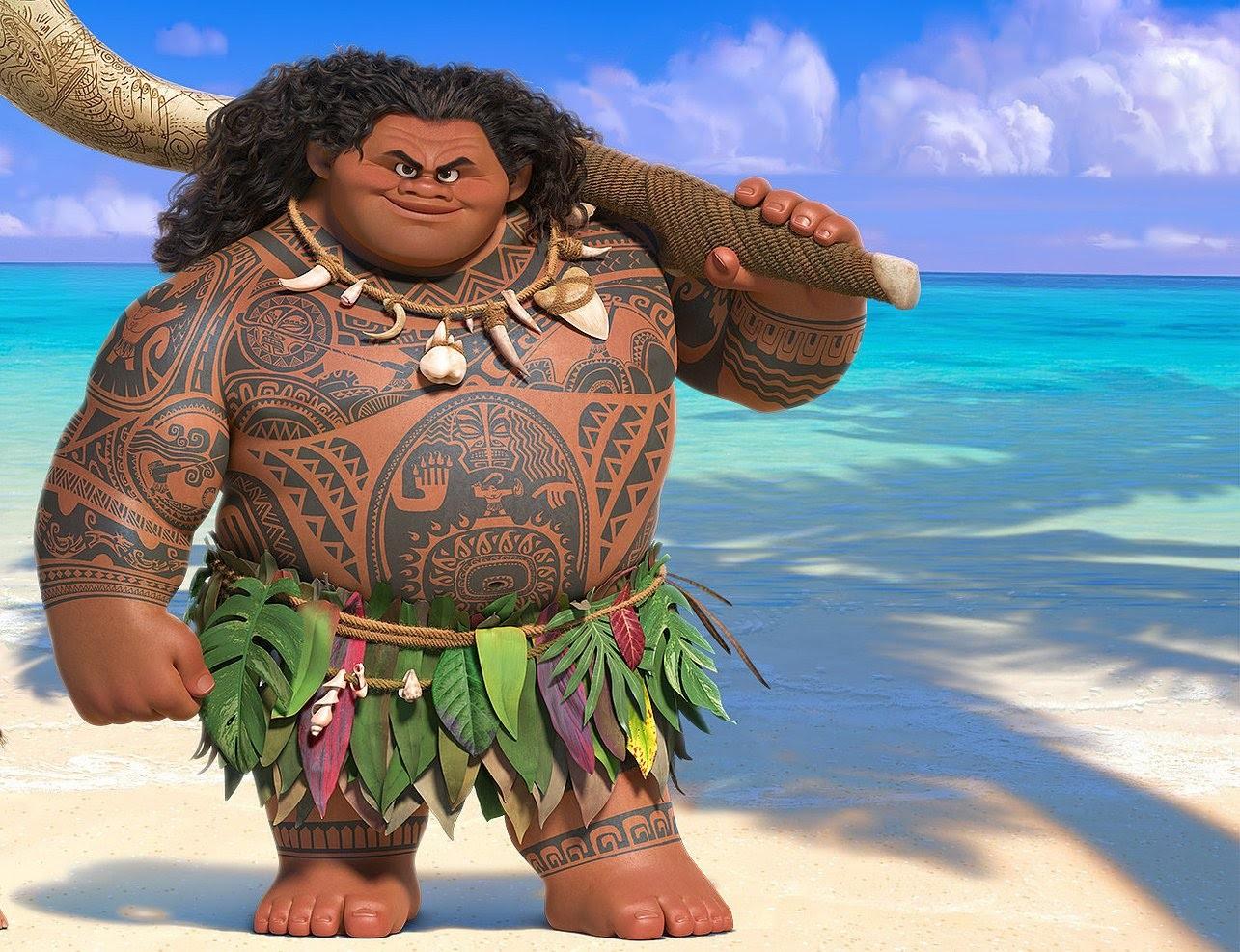 'Mama, waarom heeft Maui geen tepels?'