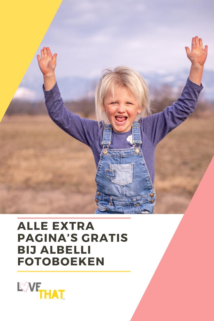 Alle extra pagina's gratis bij Albelli fotoboeken